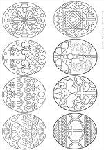 Teen Easter Eggs Coloring Page Challenge Adult