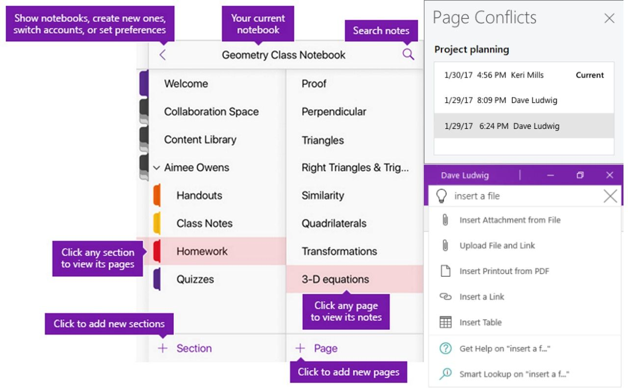 Microsoft Rolls out Redesigned OneNote for Windows 10: The