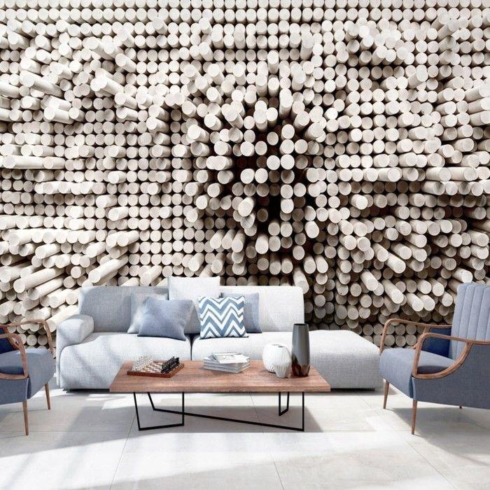 Die Attraktive Wandgestaltung 3d Tapeten Stil Vinilos Murales