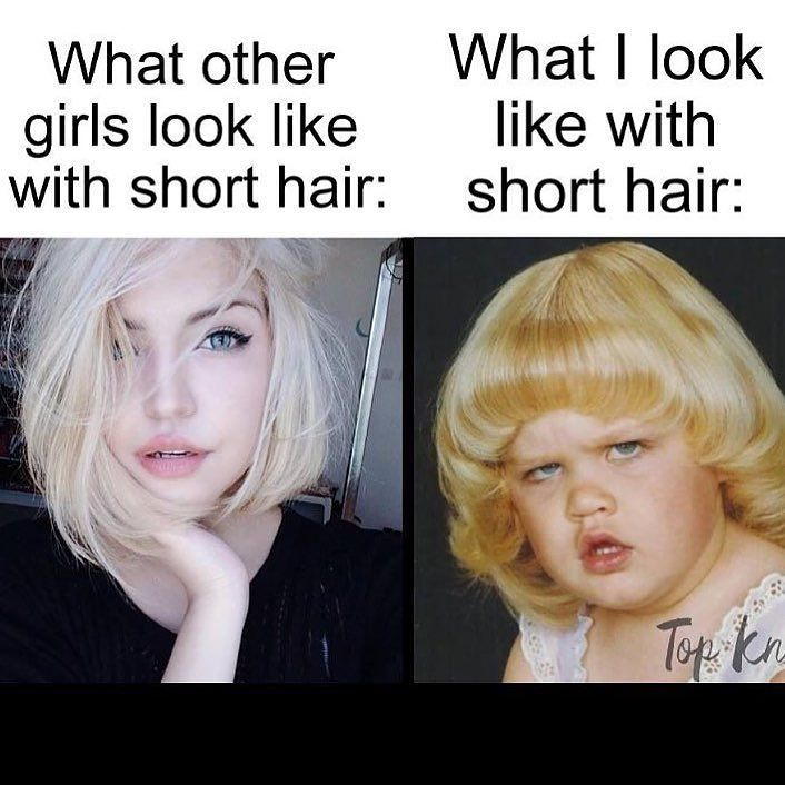 Thatbasicbitchhh On Instagram I Really Just Can T Pull Anything Off Hair Meme Short Hair Styles Hair Humor