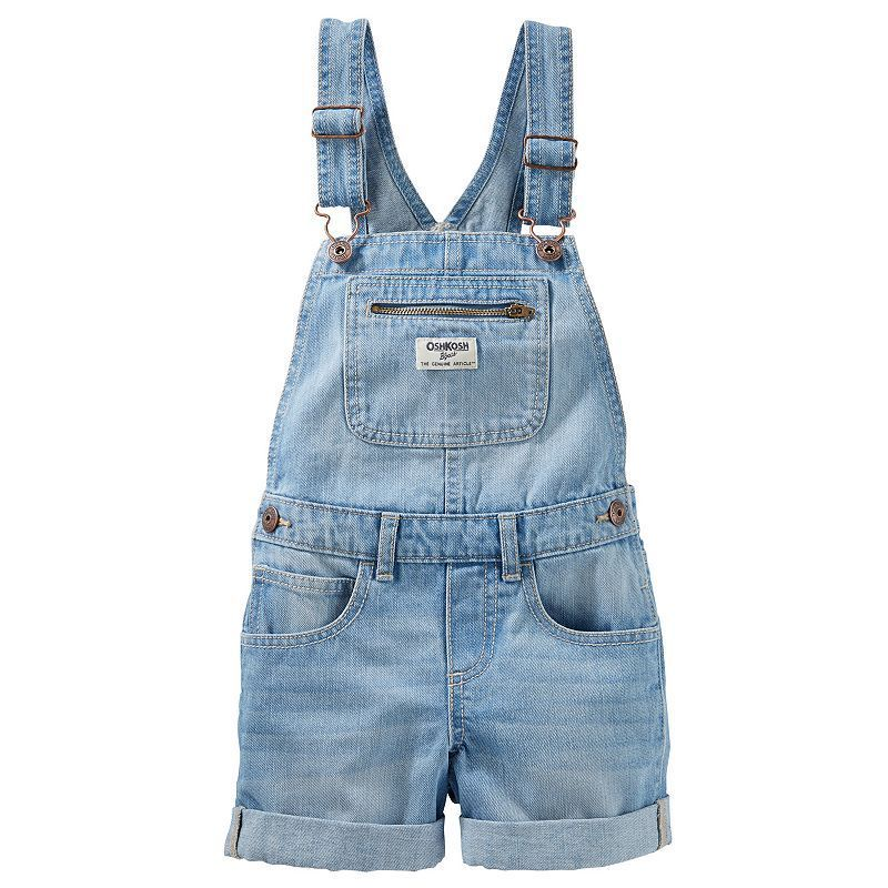 Old Navy Girls Bibs Sz 4 Denim Overalls Cargo Blue Jeans Bootcut Casual School Clothing, Shoes & Accessories