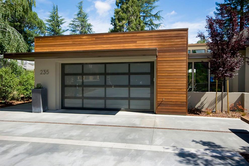 Best Mid Century Modern Garage Doors Garage And Shed 400 x 300