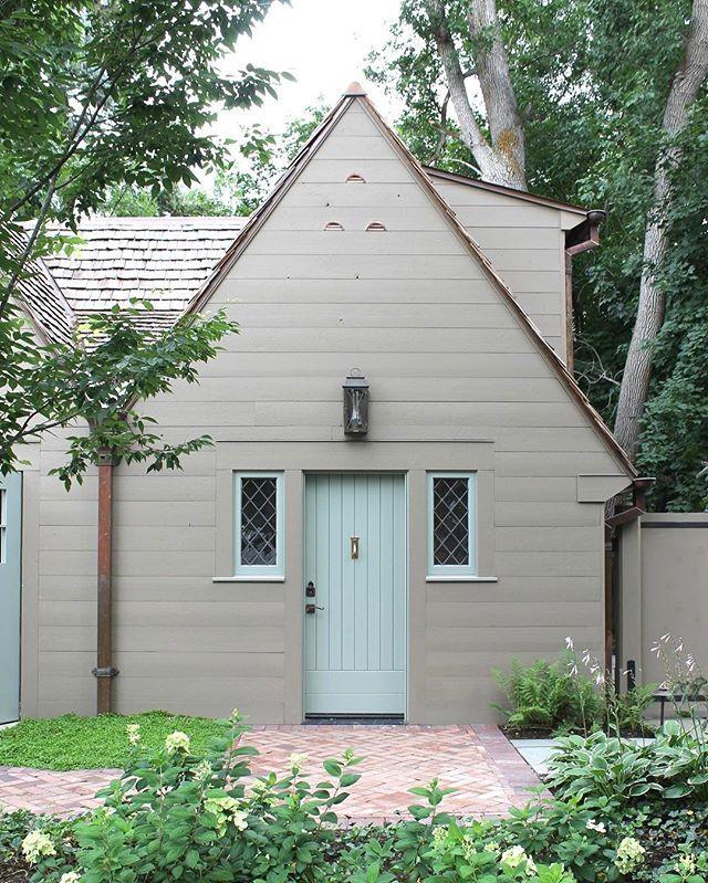 Caretaker's quarters at a Salt Lake City estate. #architecture #estate