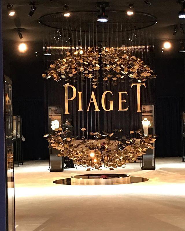 Piaget Stand At Art Dubai 2016