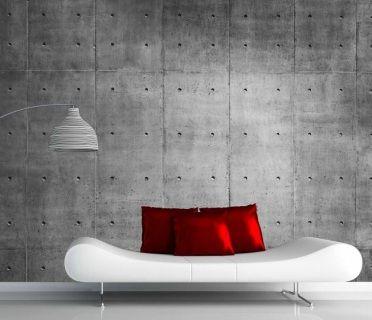 Concrete Wall Mural Concrete Wall Concrete Wallpaper Concrete Decor