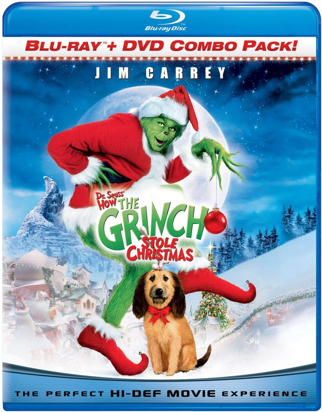 dr seuss how the grinch stole christmas blu ray combo pack blu ray dvd