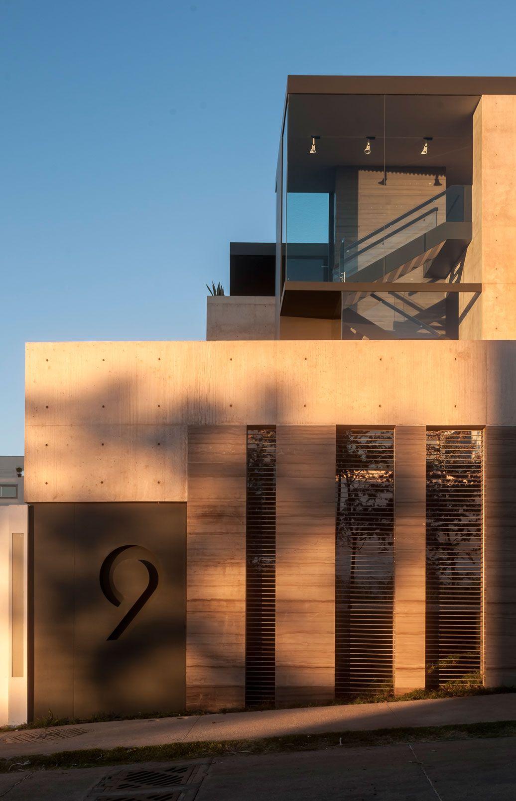 Casa ml gantous arquitectos arquitecura exteriores - Arquitectos casas modernas ...