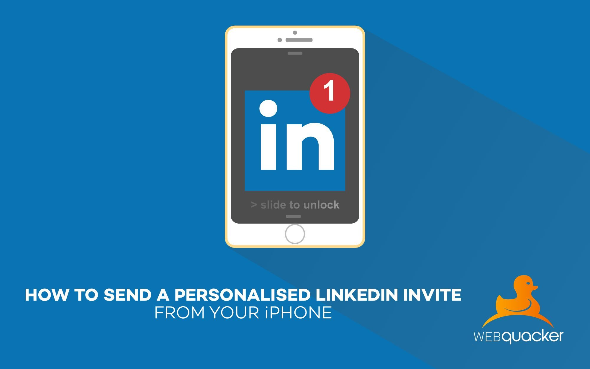 How to Send a Personalised LinkedIn Invite from your