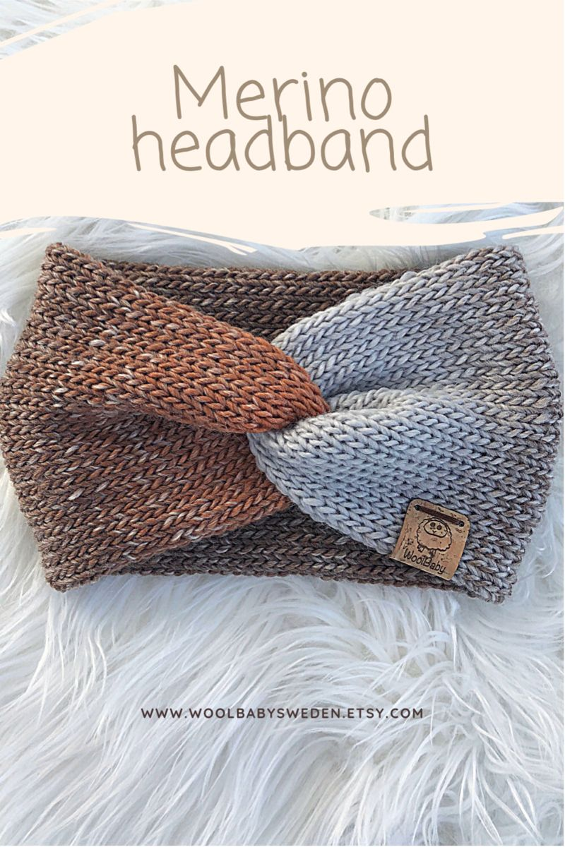 Knitting Machine Headband
