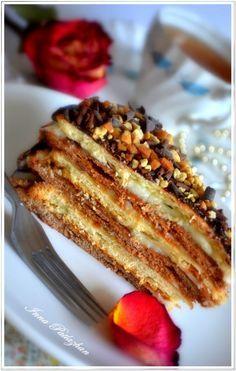 Мамулин торт Поль-Робсон #napoleonkuchenrussisch