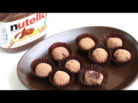 Nutella Chocolate Truffle Recipe   Eugenie Kitchen