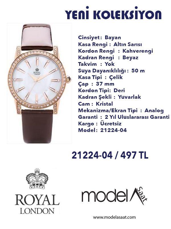 Modela Saat Adli Kullanicinin Royal London Kol Saatleri Panosundaki Pin Erkek Saat Bayan Saatleri Saatler