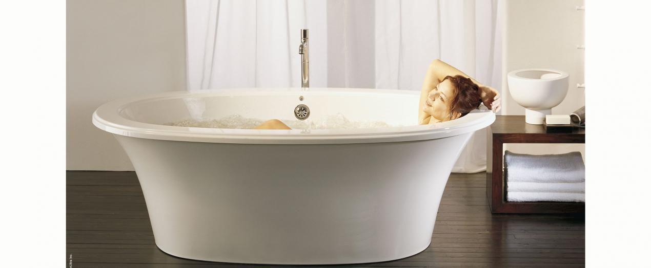 Balneo Bainultra Air Tub Bath Free Standing Tub