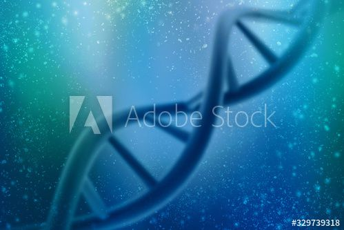 3d render of dna structure, abstract background #Ad , #sponsored, #dna, #render, #structure, #background, #abstract