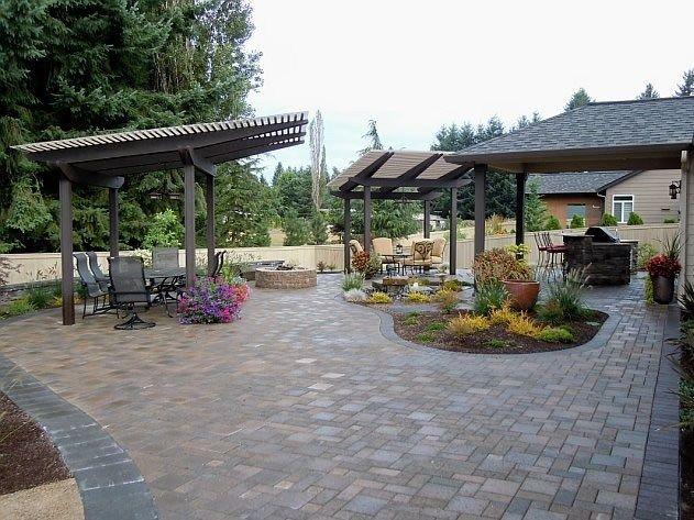 Bon Backyard Kids Play Area Ideas | This Backyard Entertaining Area Has It All    A Concrete