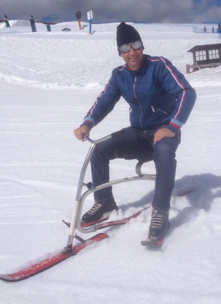 Brenter Ski Bob Vintage Ski Pinterest
