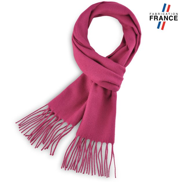 16 coloris d écharpes unies fabriquées en France à découvrir sur l allée du  foulard. 72545487ba2