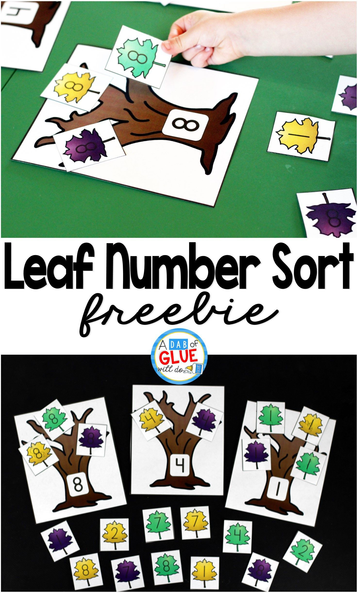 Leaf Number Sort
