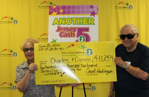 Meet Charles and Carmen  They won $411,254 playing Jersey Cash 5 on