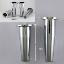 Metal Furniture Legs And Feet 4 pcs metal table legs furniture cabinet stand chrome zinc alloy