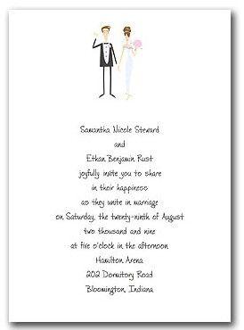groom wedding invitation wording