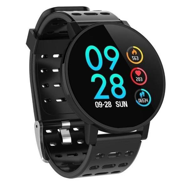 VERFOLGEN SIE IHRE HERZFREQUENZ IN ECHTZEIT!  #healty #fitnesstracker #smartwatch #GPSmonitor #smart...