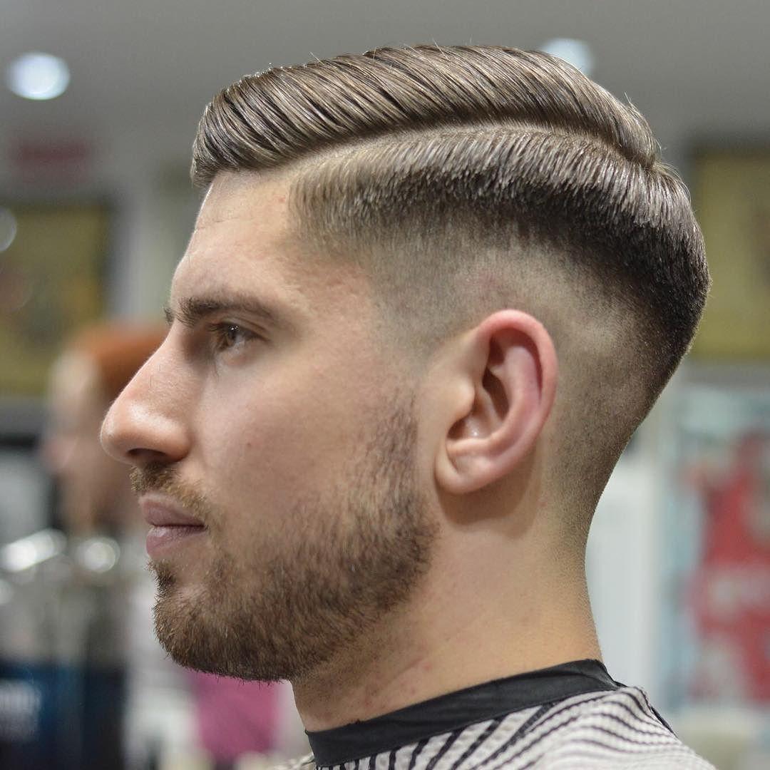 мужские прически для парикмахерской фото где гусеницы непарного