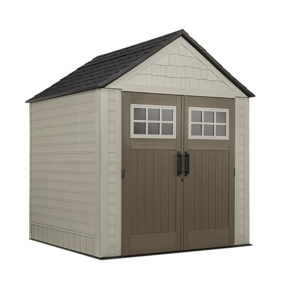 Big Max 7 Ft X 7 Ft Shed Rubbermaid Shed Rubbermaid Storage Shed Outdoor Storage Sheds