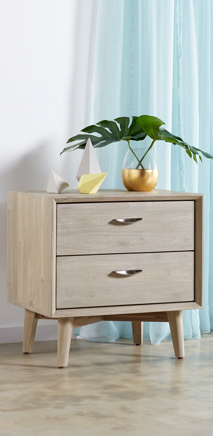 Bedshed Melbourne The Celeste New Nordic Bedside Table From Bedshed Bedshed