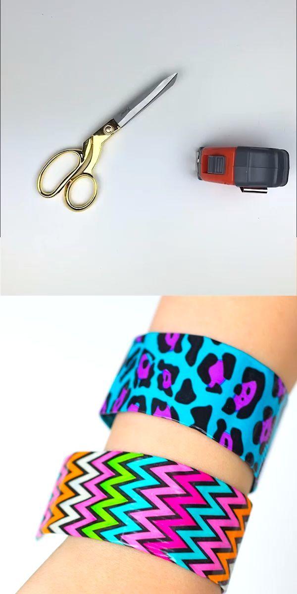 diy slap bracelets  leichte diy bastelei cooles basteln