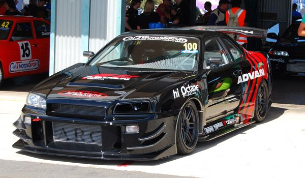 ADVAN Nissan GTR R34 Time Attack Car ashx (600×350) | Cars