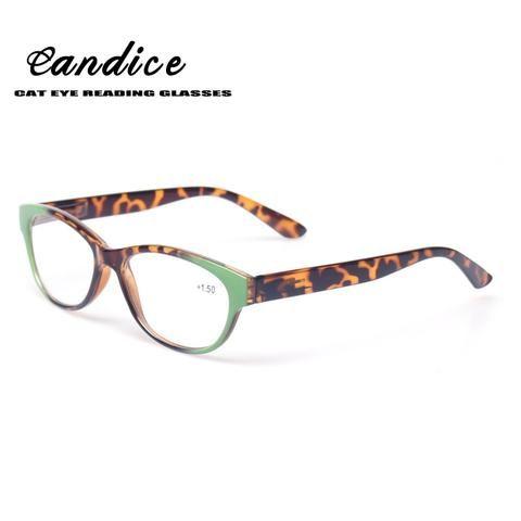 c563d1a0858 Reading Glasses Women Cat Eye Glasses Retro Vintage Plastic Frame Eyewears Spring  Hinge Women Presbyopia Glasses