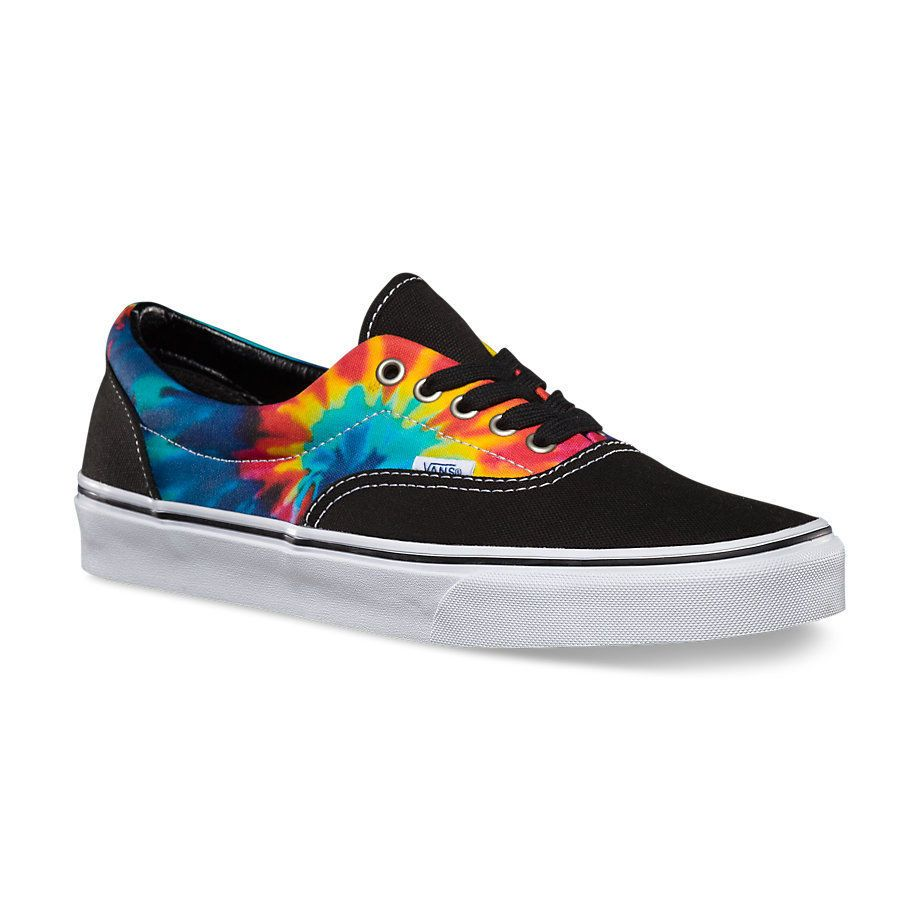 Vans ERA - Mens Skate Shoes (NEW w  FREE SHIPPING) Tie Dye   Black   SIZES 8 -13 30de641ab