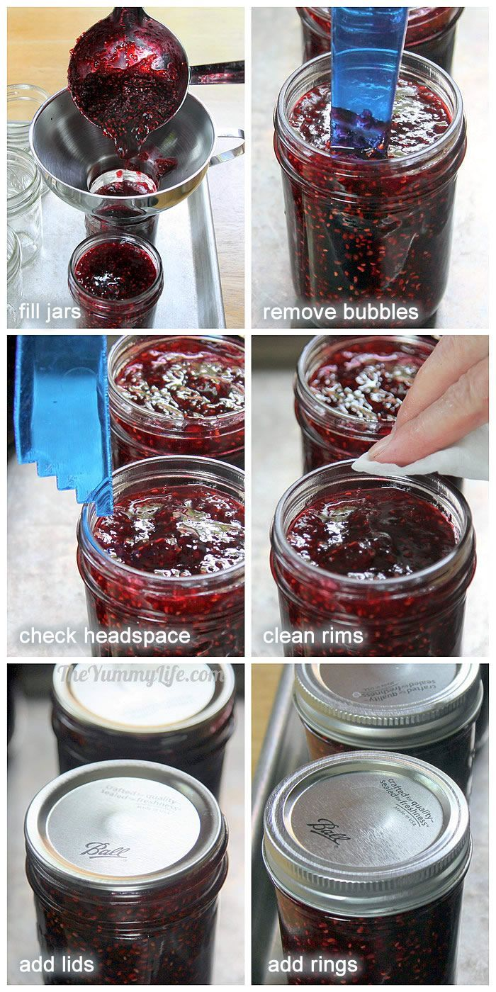 Chooseyourberry jam recipe jars berries and kind of