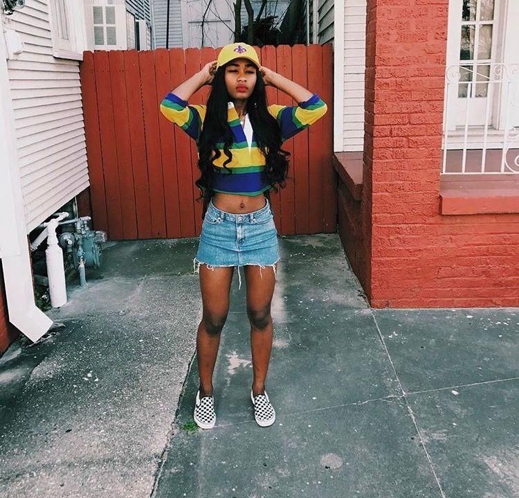 90s Black Fashion Girl: Pinterest: @ Prettygirlslied