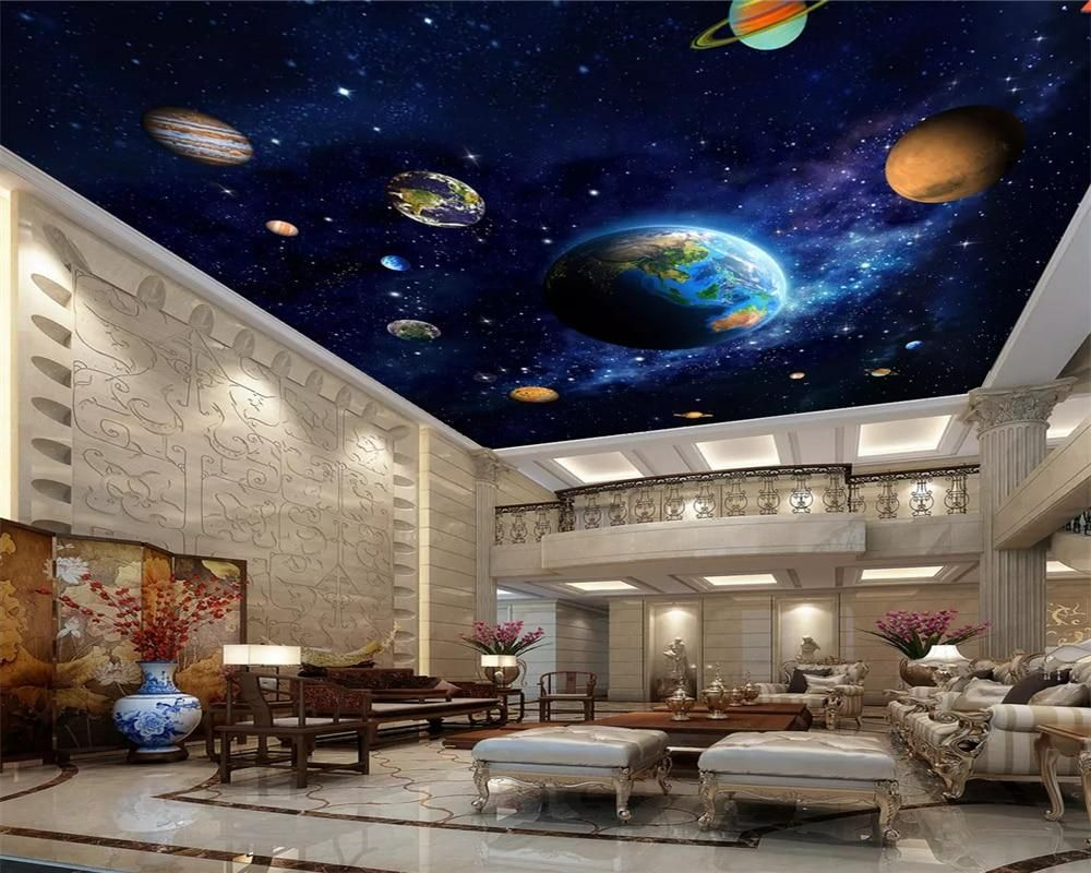 3d Ceiling Design Wallpaper Kids Room Kids Room Wallpaper Ceiling Design Ceiling