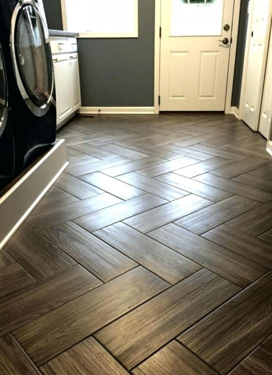 Cork Basement Flooring Ideas Faux Wood Tiles Modern Bathroom