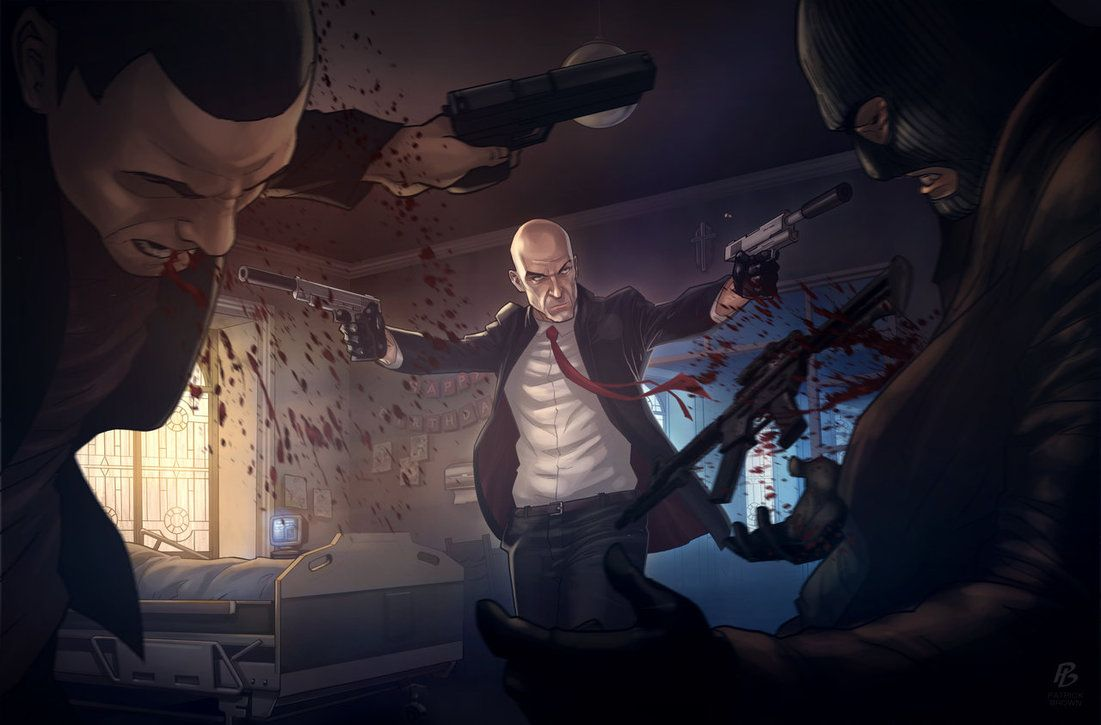 Hitman Absolution The Orphanage By Patrickbrown On Deviantart Game Art Hitman Video Game Fan Art
