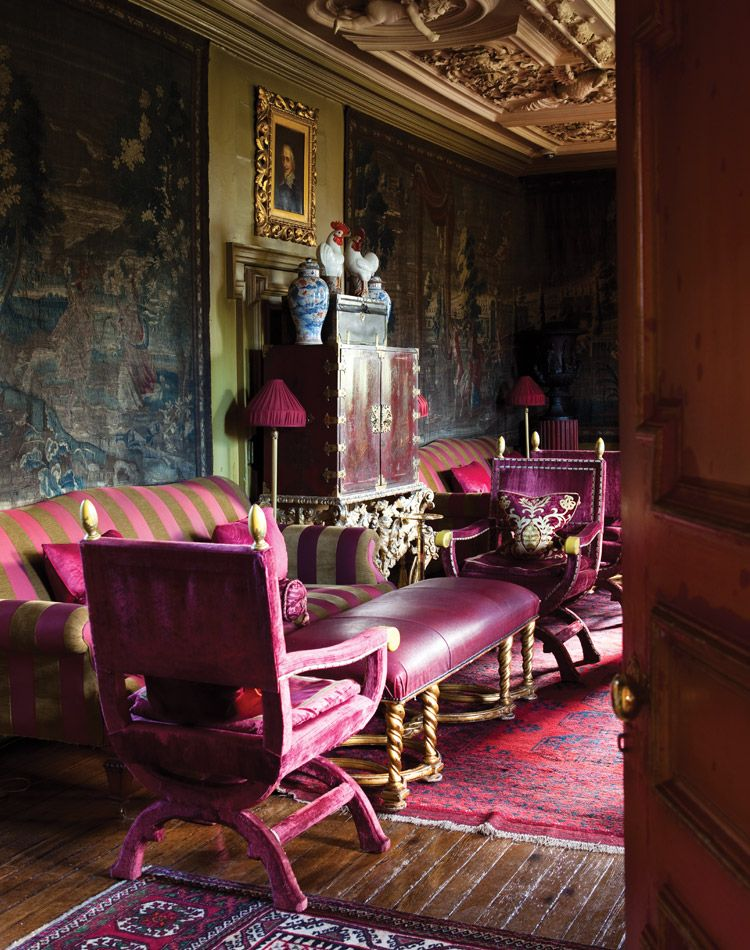 A Scottish Sanctuary Built In 1687 As The Manse Of Lord Provost Baroque Style House Was Restored 2003 Under Vision And Artistic Eye