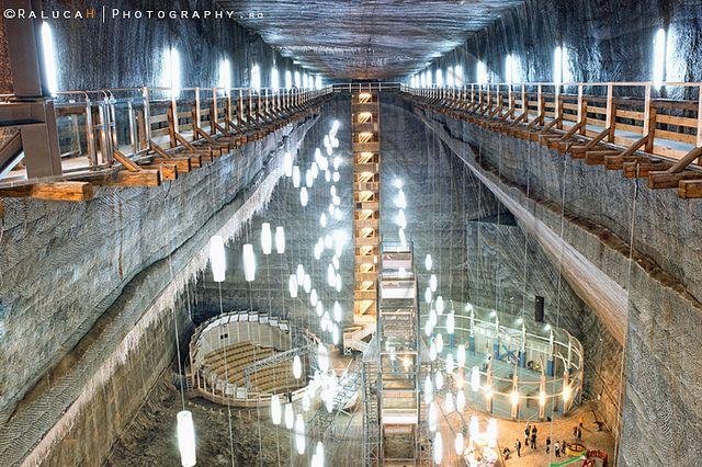 turda salt mine, romania by ralucah photography, via Flickr