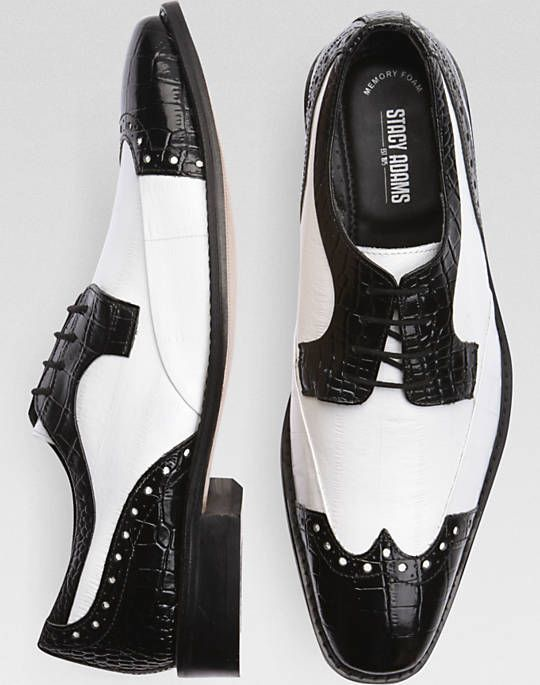 men black and white spectator shoe full brogue men's britsh ...