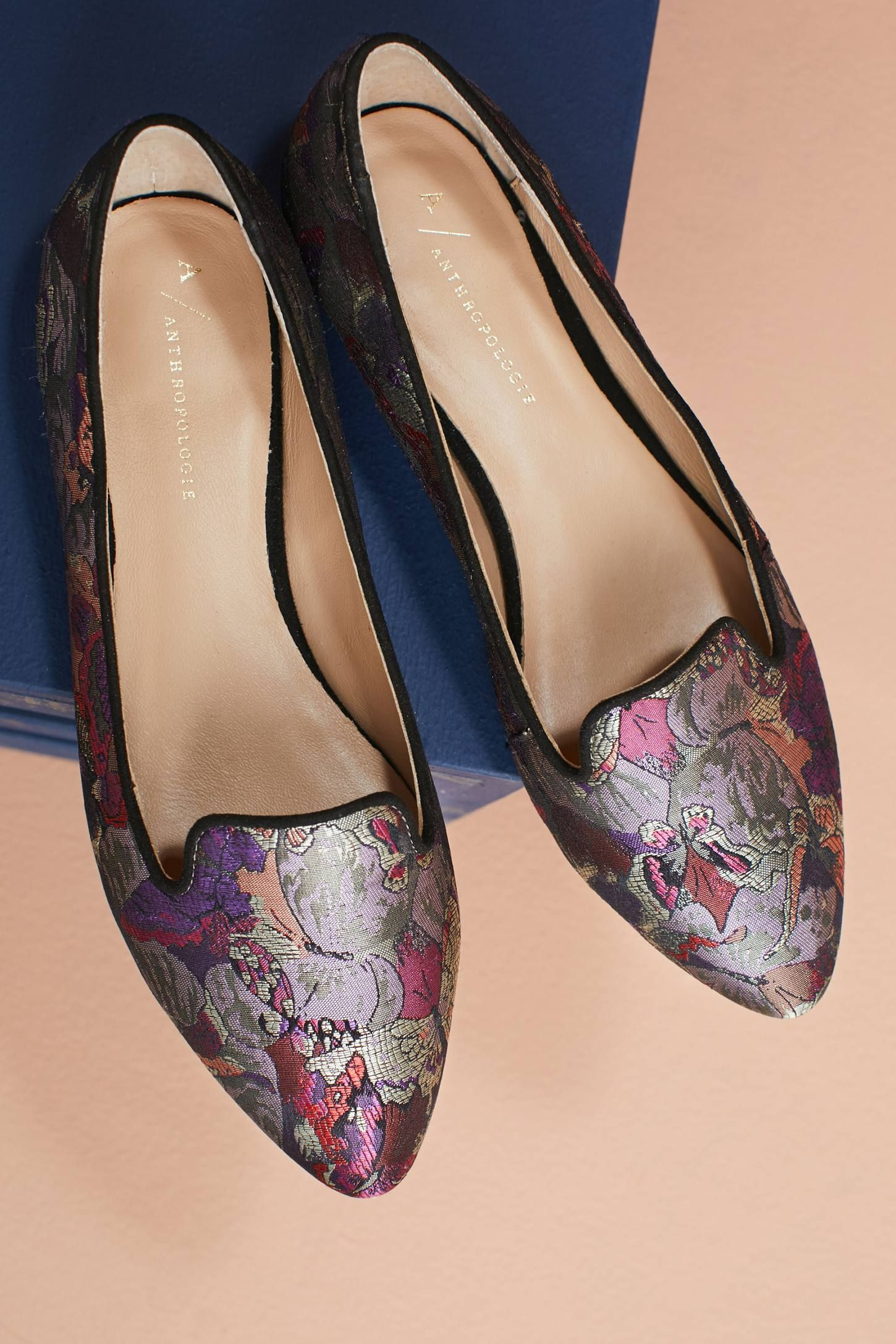 f67d496af55 Slide View  5  Anthropologie Butterfly Brocade Loafers