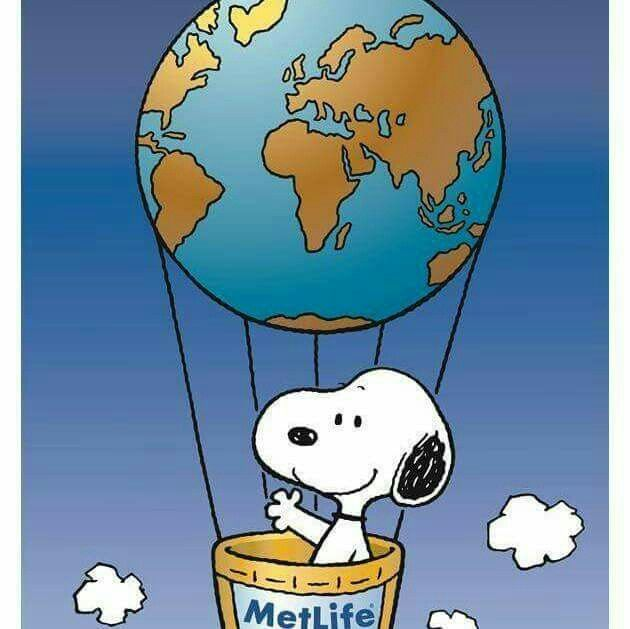 Met Life Quotes 2: SNOOPY~MetLife Balloon ♥♥