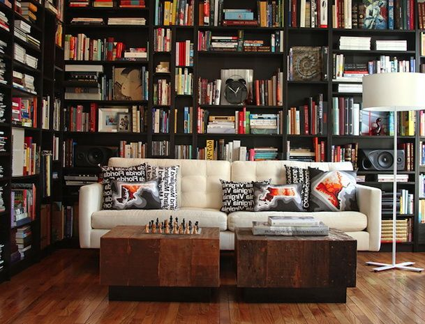 Modern Living Room Interior Design Ideas Interesting Library