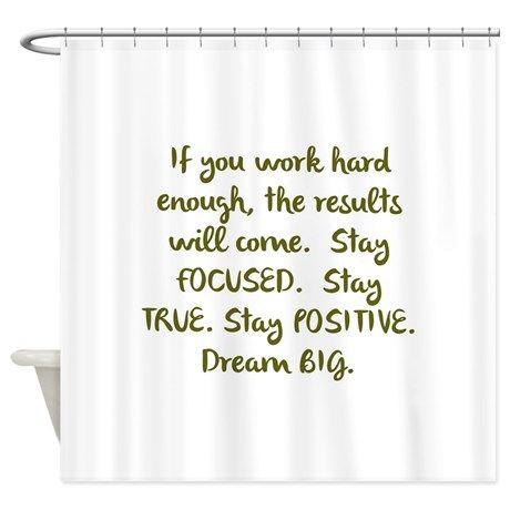 Eye On The Prize Dream Big Design Shower Curtain By Kjacdesigns Big Design Designer Shower Curtains Design