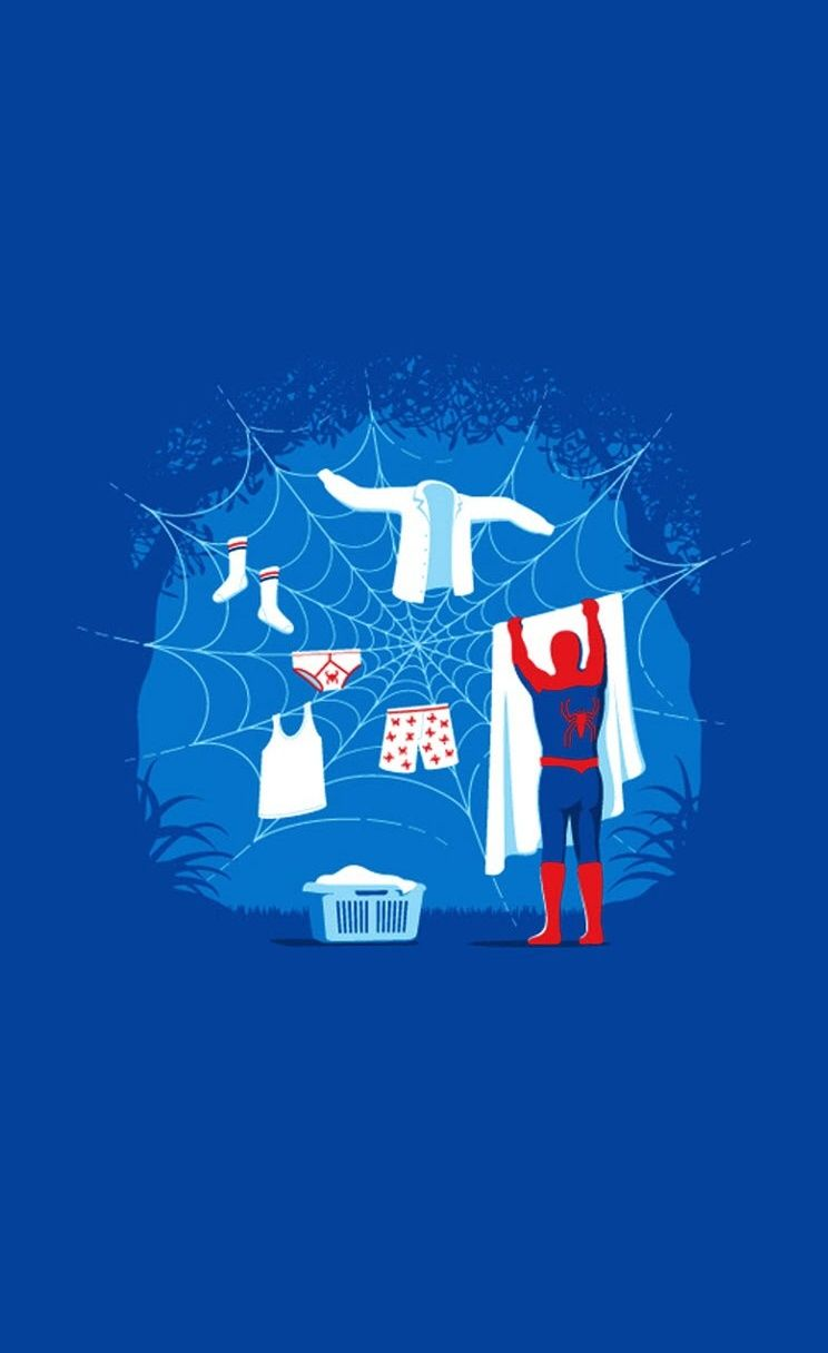 That Is A Very Good Idea Spidey Funny Iphone Wallpapers