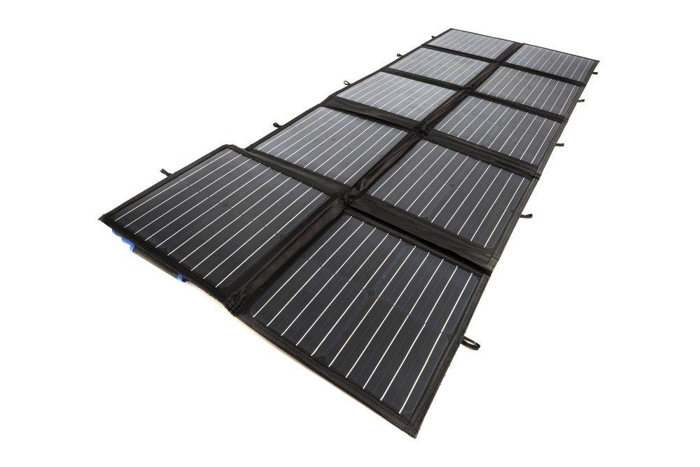 279 Adventure Kings 200w Portable Solar Blanket Compact Foldable Monocrystalline Pwm Solar Portable Solar Power Solar Panels