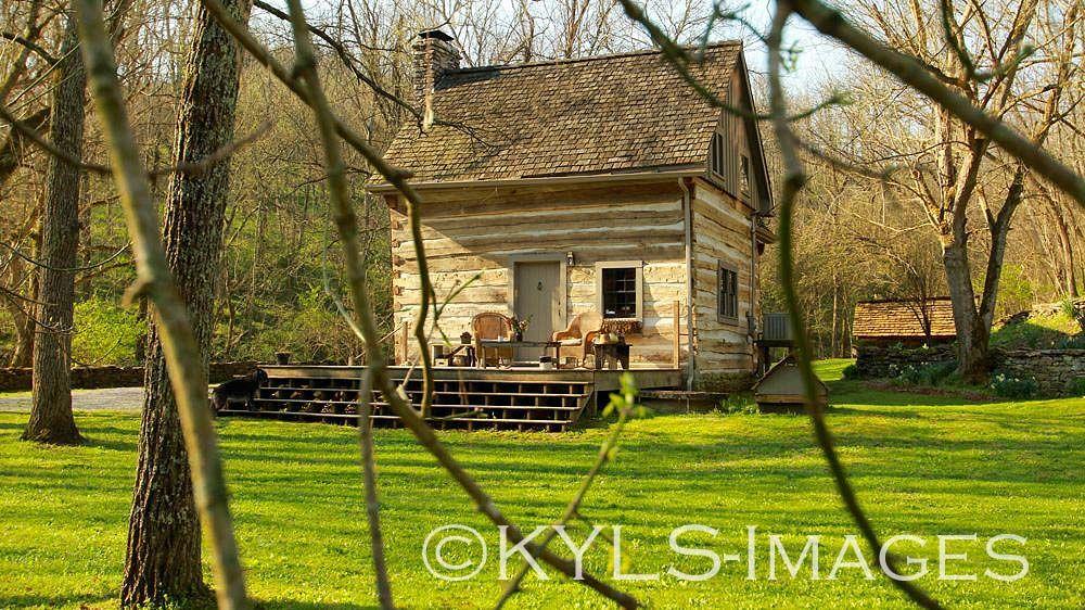 Artist Retreat Kentucky Homes For Sale Creek House Danville Farm Land Lancaster Kentucky Homes And Land For Sale H Log Cabin Cabin Log Cabins For Sale