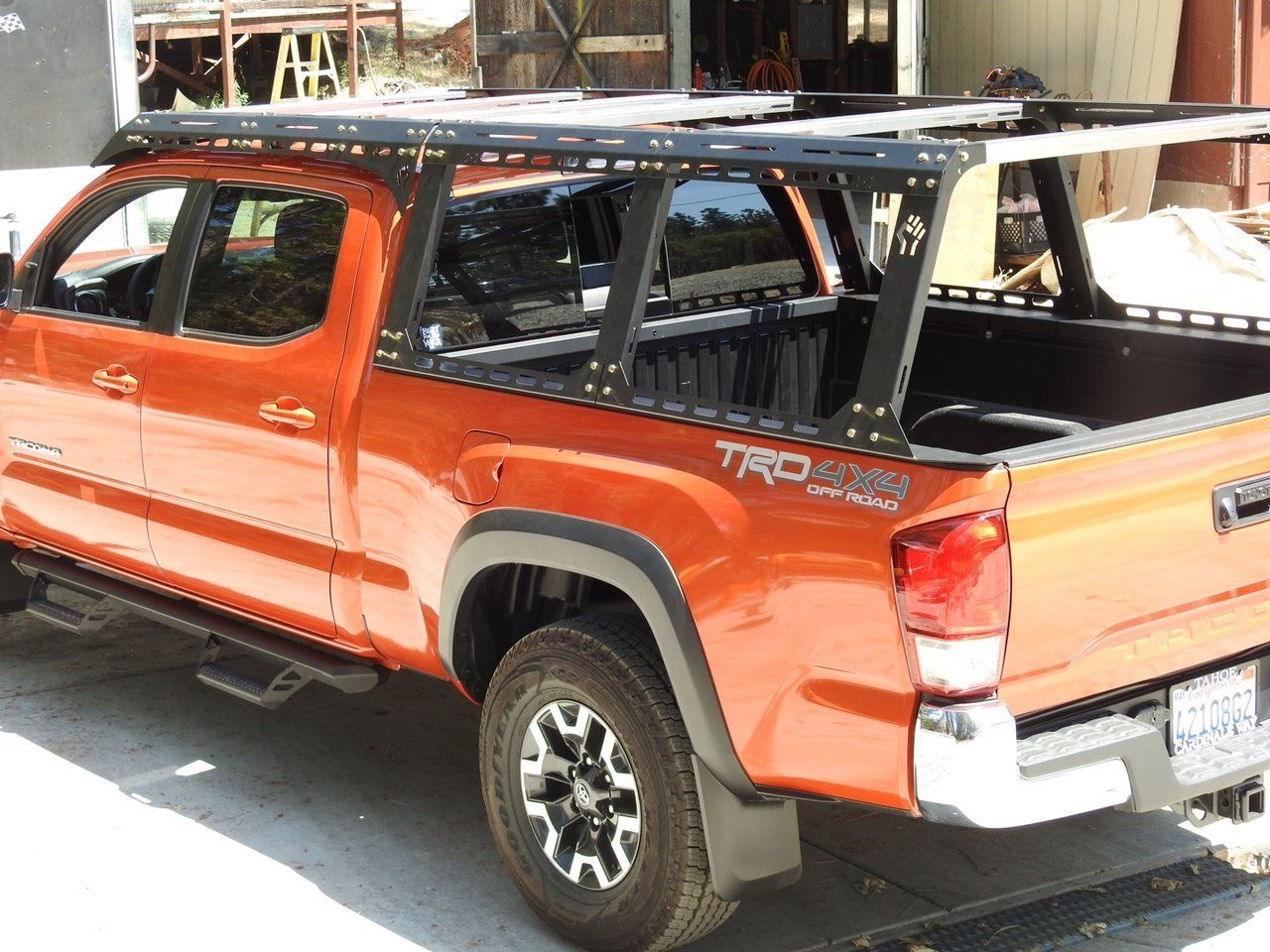 Dissent offroad racks on my Tacoma | Tacoma camp | Truck accessories