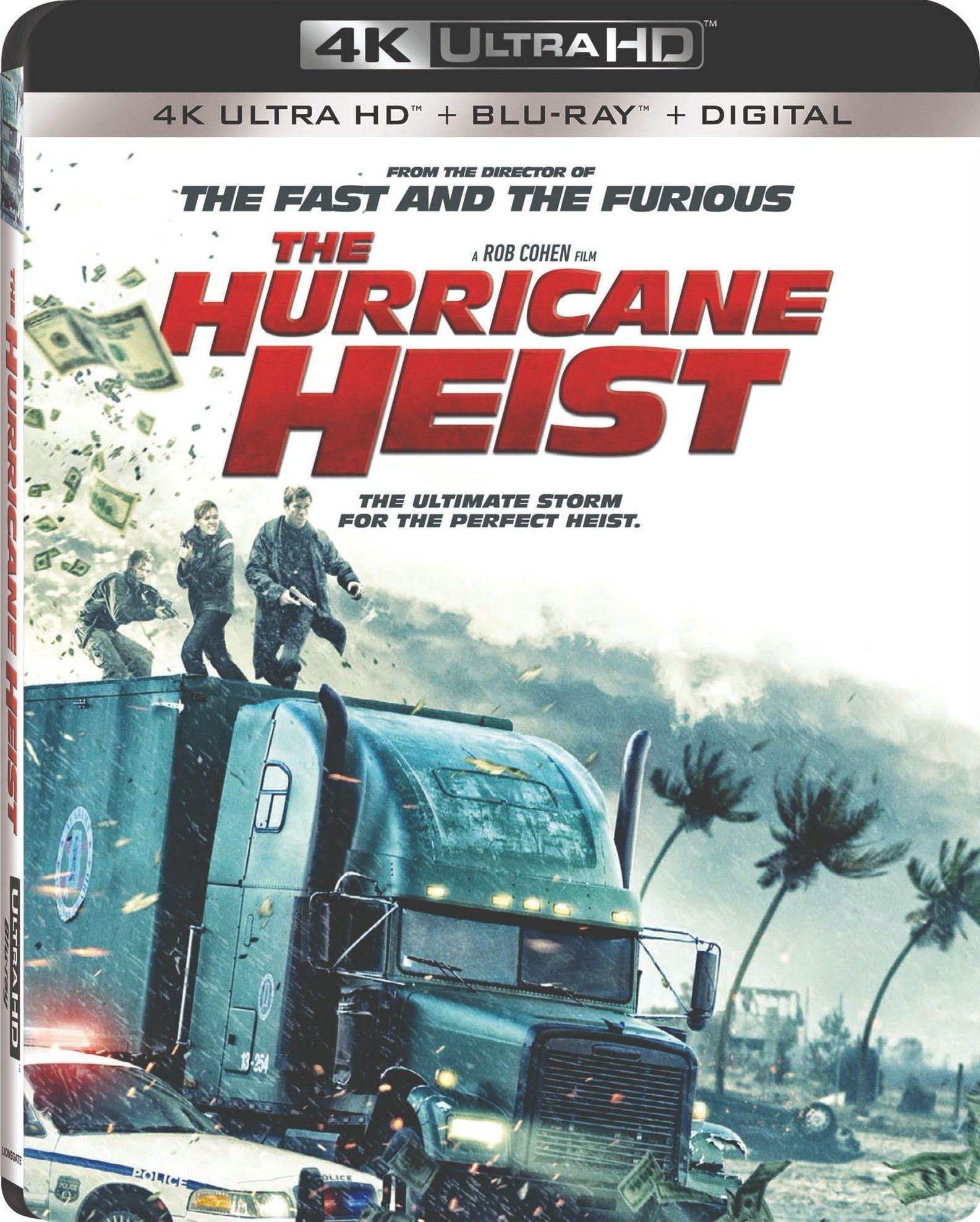 The Hurricane Heist 2018 4k Ultra Hd Blu Ray Dvd Hurricane Blu Ray